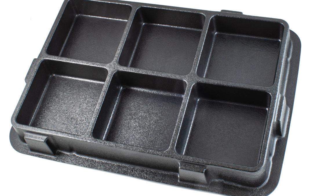 Black Product Tray